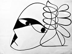 Self-Portrait (undated) - José de Almada Negreiros (1893-1970) (pedrosimoes7) Tags: josédealmadanegreiros caloustegulbenkianmuseum moderncollection lisbon portugal selfportrait ✩ecoledesbeauxarts✩ artgalleryandmuseums creativeartphotography
