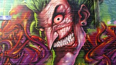 Heesco & Duke... (colourourcity) Tags: streetart streetartaustralia streetartnow graffiti melbourne burncity awesome colourourcity nofilters heesco mongohustle thejoker joker batman duke style grimz cka tsf id burner