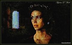 Occhi neri - Aprile-2017 (agostinodascoli) Tags: agostinodascoli nikon nikkor cianciana sicilia donna art digitalart photopainting photoshop digitalpainting creative texture colore