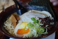 Tonkotsu ramen AUD9.90 - Fukuryu Ramen, Melbourne (avlxyz) Tags: seaweed soup egg pork ramen noodle tonkotsu eggyolk woodears bambooshoot chashu fba porkbonesoup oozyyolk