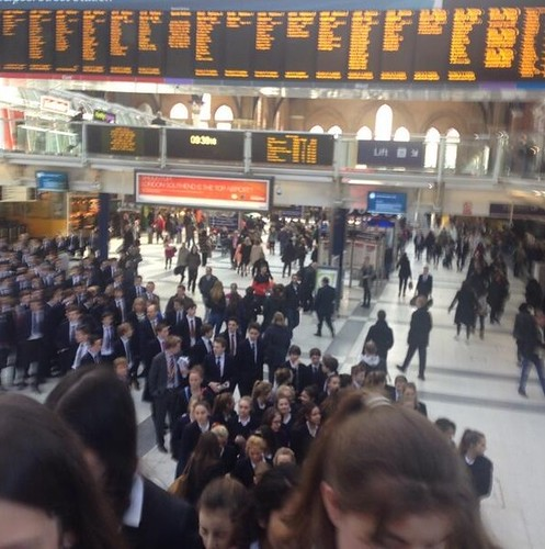 The Felsted Flyer, Chelmsford Charter Train - London Liverpool Street Station