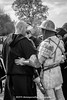 [2014-04-19@15.34.20a] (Untempered Photography) Tags: history monochrome costume helmet medieval weapon sword knight armour reenactment combatant chainmail canonef50mmf14 perioddress polearm platearmour gambeson poleweapon mailarmour untemperedeye canoneos5dmkiii untemperedeyephotography glastonburymedievalfayre2014