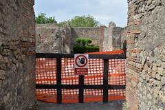 this is Pompei (lepublicnme) Tags: italia april napoli pompei 2014 accesso vietato