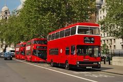 THX101S, Whitehall 30/04/14 (MCW1987) Tags: london m1 transport metrobus mcw ensignbus thx101s