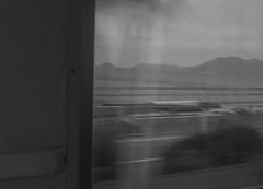 ghost train deja v riviera (Davide Brat) Tags: travel sea bw italy window train landscape mare fenster liguria zug move finestra movimento treno viaggio finestrino ligurien ponente