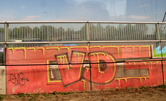 graffiti (wojofoto) Tags: holland graffiti nederland railway spoor trackside spoorweg gvd wojofoto