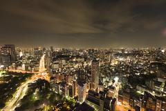 Tokyo lights from high above (George Pachantouris) Tags: street japan lights tokyo shinjuku shrine asia shibuya budhist