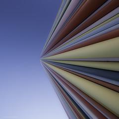 Color... (Julian E...) Tags: paris france color vanishingpoint pattern stripes ladefense