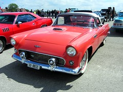 American Live, Luterbach 04.05.2014 (v8dub) Tags: auto old bird classic ford 1955 car t schweiz switzerland automobile suisse live meeting convertible automotive voiture american oldtimer oldcar thunderbird cabrio collector tbird cabriolet wagen luterbach pkw klassik worldcars
