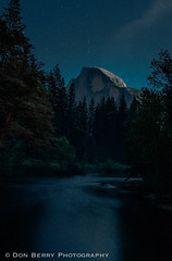 Half Dome by Moonlight (donberry37 (SF Bay Area)) Tags: night landscape parks yosemite halfdome moonlight nationalparks yosemitevalley