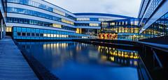 TU Twente - 1 (erwin.morsink) Tags: architecture evening architectuur highres panoramafoto tutwente