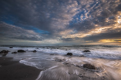 Being There (Nick Twyford) Tags: sunset newzealand seascape clouds rocks waves auckland northisland westcoast waiuku lateafternoonlight awhitu colourimage leefilters hamiltonsgap nikond800 lee09nd lee06gndsoft phottixgeoone nikkor160350mmf40