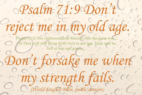 Don't forsake me when I'm old by Martin LaBar, on Flickr