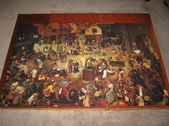 Jeux Nathan 5000: Combat of Carnival and Lent (son2307ic) Tags: art museum nathan puzzle carnivale elder gras jigsaw 5000 mardi pieter lent bruegel