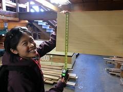 2014-05-24 12.45.01 (chadmagiera) Tags: sanfrancisco wood building work office spring maple handmade may reception gt making lumber hardwood 2014 q2 macbeath chadmagiera macbeathhardwoods softmaple receptionwall 201405