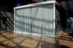 Shadow lines ! (mennomenno.) Tags: shadowlight rotterdamzuid laanopzuid posthumalaan schaduwlicht doorgang