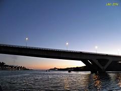 Puente (Lavi 64) Tags: sol puente puesta