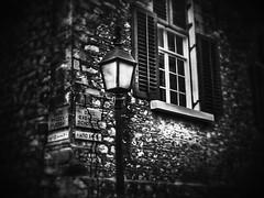Scholeiou str.Plaka Athens (mtritaki) Tags: street city houses light bw white black window lamp night dark athens greece   plakaathens      flessa scholeiou