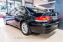 BMW Serie 730d - 231 c.v - Negro Zafiro - Piel Nasca Beige
