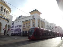 Marokko (Rik Struiksma) Tags: public transport tram casablanca tramway marokko alstrom