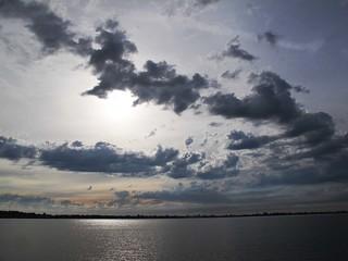 Lake Mulwala, taken from the Yarrawonga side.