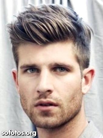 cortes masculinos na moda rosto comprido