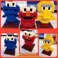 "✨NANO LEGO LOZ S กล่องเหลี่ยม✨ เลโก้จิ๋ว แบบ ประกอบเอง ขนาดสูง 3""-3.5"" ชิ้นส่วน มากกว่า 100 ชิ้น  เอลโม คุ๊กกี้มอนสเตอร์ บิ๊กเบริร์ด  เลือกลายได้  ราคาตัวละ 100฿ เซท 3 แบบ 250฿ พร้อมส่ง +50฿ EMS  #sweetlovermakeup #nano #lego #mickey#minnie#steve#job#toys"
