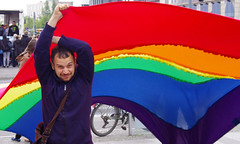 CSD Aktionsbndnis. (AFIK  BERLIN) Tags: gay three fight different parades pride fags csd deomonstrations csdkreuzbergberlin sonewalll