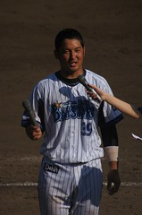 DSC05303 (shi.k) Tags: 横浜ベイスターズ 140601 嶺井博希 イースタンリーグ 平塚球場