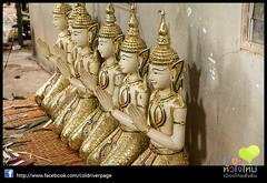 Candle Festival parade at Ubon Thailand - Made the big Candles trip_106