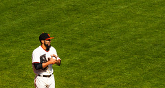 Sergio Romo warming up to close (phoca2004) Tags: sanfrancisco california unitedstates sfgiants mlb nymets attpark sergioromo