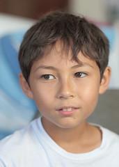 Eurasian Portrait - Part 26 (Farangrakthai) Tags: boy portrait smile canon thailand kid bangkok thai f2 enfant eurasian sourire garon luk 135mm thailande 6d thailandais  canon6d eurasien lukkreung khrueng
