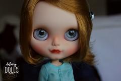 Kraviz is looking for new adventures (Isa Mira) Tags: pink cute hair doll factory ooak carving lad blythe custom nicky rbl eyechips dafnery puppelina dafnerydolls