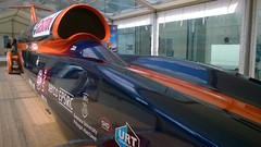 Possibly the fastest car in the world! (hobbitbrain) Tags: car speed record bloodhound ssc thrust