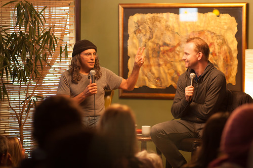 Coffee Talk - Tom Shadyac & Morgan Spurlock