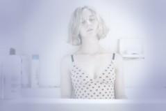 86 (Madeline Keyes-Levine) Tags: portrait selfportrait shower bath 365 bodysuit swimsuit 365project