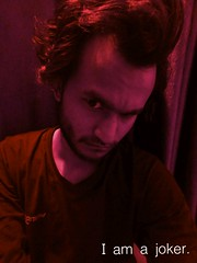 joker. (bestofphotos) Tags: india look hair big head handsome first best dude human joker forehead hairstyle rapper fastest dugg eyear flickrandroidapp:filter=none manekar realjoker abhishyk