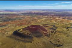 Roden Crater Vulcano (Eric Gofreed) Tags: arizona flagstaff aerialphotography vulcano lambada rodincratervulcano