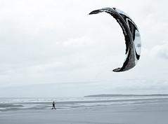 blown away (Zsanka Kovacs) Tags: kite beach 35mm canon seaside cambersands kiteboard 6d