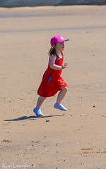 Wait For Me (karllaundon) Tags: family sea summer sun cute beach fun happy seaside day child laugh northeast rockpool redcar