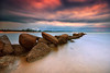 Cherating (fiz_zero) Tags: world longexposure sky beach nature water clouds landscapes nikon rocks asia skies seascapes awesome sigma malaysia pahang cherating sigma1020mm nikond7100