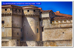 Celebrities great castle of the city of Cuellar, Spain