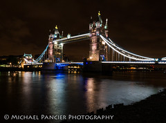 Tower Bridge at Night (Michael Pancier Photography) Tags: uk greatbritain travel vacation england london towerbridge unitedkingdom gb thamesriver northbank travelphotography nighttimephotography commercialphotography naturephotographer michaelpancierphotography towerbridgeatnight landscapephotographer fineartphotographer michaelapancier wwwmichaelpancierphotographycom summer2014
