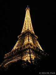 Eiffel Tower at Midnight - Paris, France