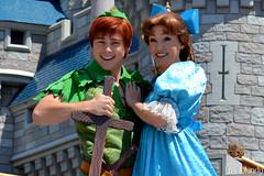 Dream Along With Mickey (disneylori) Tags: peterpan disney disneyworld characters wdw waltdisneyworld wendy magickingdom disneycharacters dreamalongwithmickey facecharacters peterpancharacters