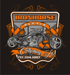 "Ironhorse Repair - Gettysburg, PA • <a style=""font-size:0.8em;"" href=""http://www.flickr.com/photos/39998102@N07/14624330041/"" target=""_blank"">View on Flickr</a>"