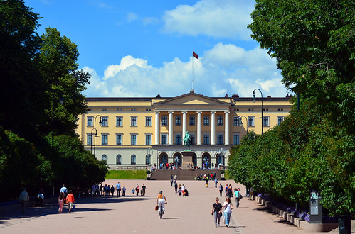Det Kongelige Slott / The Royal Palace by Images George Rex, on Flickr