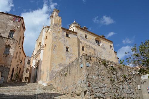 Cathédrale St.-Jean Baptiste in Calvi (Corsica, France 2014)