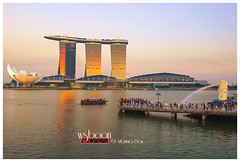 Sunset @ Marina Bay_0864 (wsboon) Tags: city travel cruise light sky holiday color tourism water architecture clouds composition buildings relax corporate design photo google search nikon singapore asia exposure cityscape view nocturnal skyscrapers heart perspective visit tourist calm explore photograph land destination serene cbd pimp nocturne dri singapura centralbusinessdistrict blending singaporeriver singaporecityscape masteratwork marinabay uniquelysingapore singaporecity peopleculture marinabaysands d700 singaporecruise singaporelandscape singaporetouristattractions artsciencemuseum nocommentsimplyperfectsingaporeview singaporefamouslandmarks