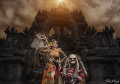 Balinese Dancer (Teddy Wijaya) Tags: bali monument canon dance outdoor dancer rangda balinese celuluk